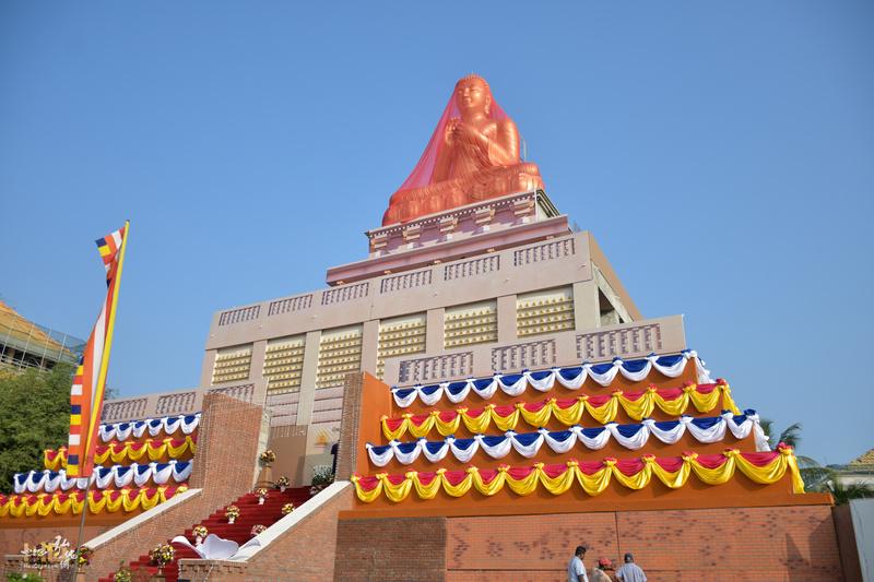 斯里蘭卡龍喜國際佛教大學・釋迦牟尼佛大佛像啟用典禮