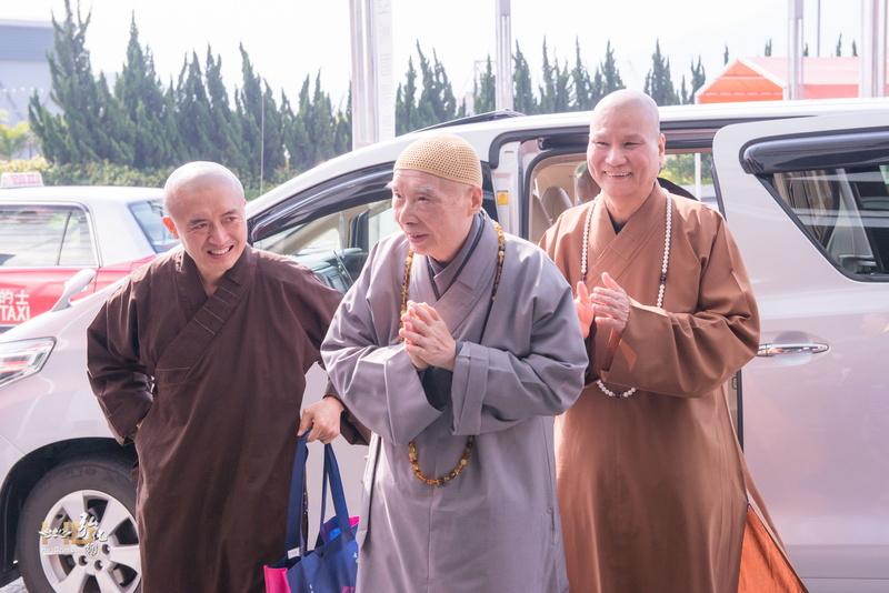 淨空老和尚蒞臨香港清明祭祖大典