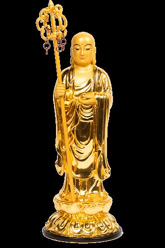 金色 地藏王菩薩 立體佛像